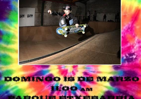 Concentración escolar skateboard guretxoko