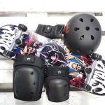 Oferta iniciacion: Skate completo, casco y protecciones. 145,00€