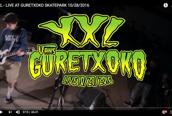XXL live at guretxoko 28/10/2016