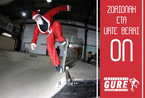 ZORIONAK ETE URTE BERRI ON